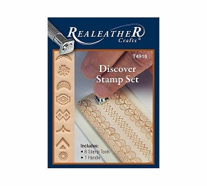 Discover Leathercraft Stamp Set - T4916