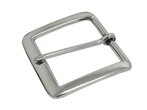 "1 1/4"" Nickel Solid Brass Buckle - B155020NSB"