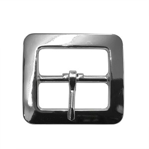 "1 1/2"" Cast Chap Buckle (Nickel Plate) - B158624NP"
