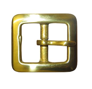 "7/8"" Solid Brass Buckle - B159514PSB"
