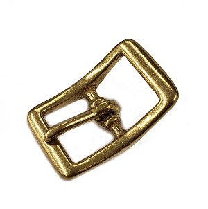 "5/8"" Bronze Cast Center Bar Buckle - B23310BZ"
