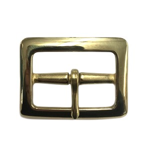 "1 3/4"" Sam Brown Garrison Buckle (Solid Brass) - B840228PSB"