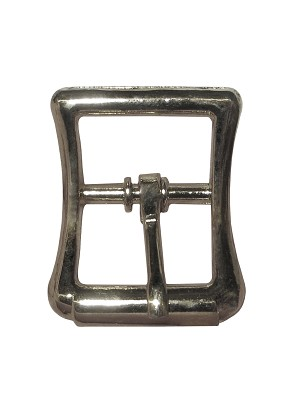 "3/4"" Diecast Imitation Roller Buckle, (Nickel Plate) - B92312NP"