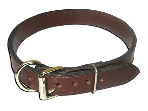 Bad Dog Extra Extra Large HD Two Ply Dog Collar  - 1 1/2 inch 26'' 28''