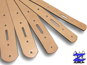 "3/4"" Natural Belt Blanks - L20012"