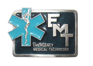 """EMT"" Heavy Cast Epoxy Inlay Buckle - EB2164"