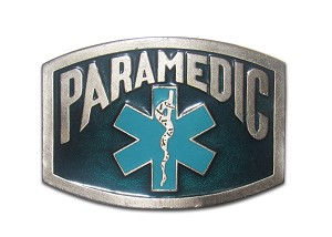"Paramedic ""A"" Series Heavy Cast Epoxy Inlay Buckle - EB2226A"