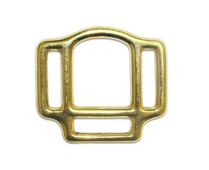 "5/8"" Bronze 3 Way Halter Square - H37010BZ"