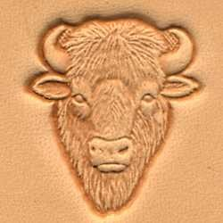 Buffalo Head 3-D Craftool