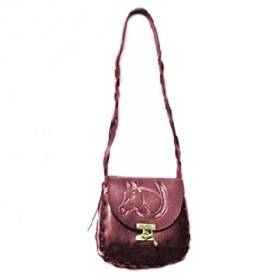 Medium Oval Bag with Wheat Design - ML029WH