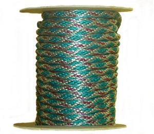 Aztec Multi-Color Poly Rope (200ft Roll)