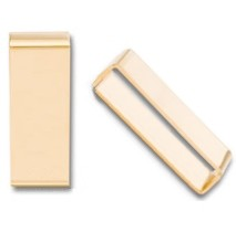 "1/2"" x 1 1/4"" Brass Plated Steel Belt Keepers - LP20BP"