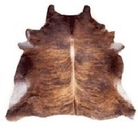 Brindle Hair-On Cowhide, Medium ( 33 - 39 sq. ft. ) - Z911703M