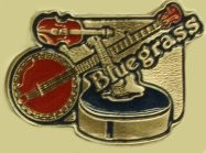 """Bluegrass"" Heavy Cast Epoxy Inlay Buckle - EB2113"