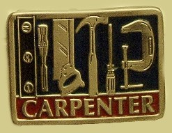 """Carpenter"" Heavy Cast Epoxy Inlay Buckle - EB2364"