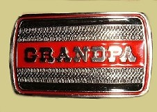 """Grandpa"" Heavy Cast Epoxy Inlay Buckle - EB2386"