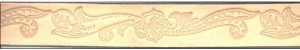 "1"" Child's Embossed Belt Blank - L22116"