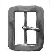 "1 3/4"" Garrison Buckle (Diecast, Nickel Plated) - B89928NP"