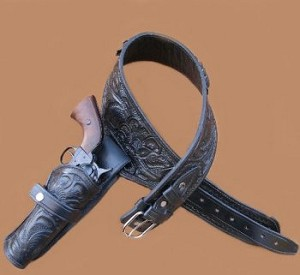 Western Style Holster W/Floral Design Embossing - WHMX