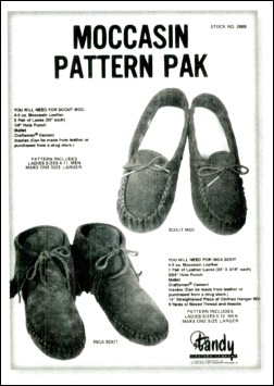 Moccasin Pattern Pack - P62668