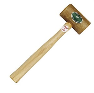 "24oz Garland Rawhide Mallet with 2-3/4"" rnd diameter head - G11006"