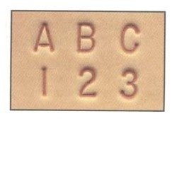 "1/4"" Combination Letter & Number Set - 8137"