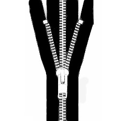 "26"" #10 Aluminum Jacket and Chap Zipper - ZP10026"