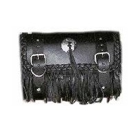 Tool Bag With Fringe & Concho