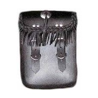 Sissy Bar Bag W/Fringe
