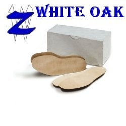 Prime White Oak Full Sole, Large (9/10 Iron)