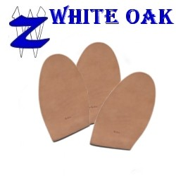 Super Prime White Oak Half Soles, (Large 4 1/2 Inch)
