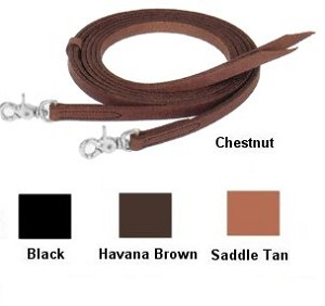 5/8in X 7' English Bridle Quick Change Split Reins