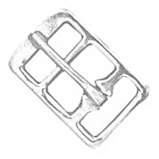 "1"" NP Steel English Girth Buckle - B123016NP"