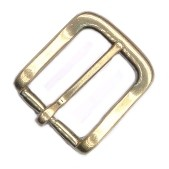 "1"" Polished Solid Brass Buckle - B190916PSB"