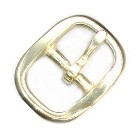 "3/4"" Polished Solid Brass Buckle - B159212PSB"