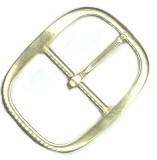 "2"" Solid Brass Center Bar Buckle - B71832SB"