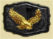 Heavy Cast Trophy Buckle - T167/500