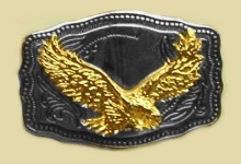 Heavy Cast Trophy Buckle - T210X500A