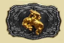 Heavy Cast Trophy Buckle - T217X179