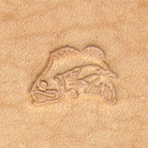 Leaping Bass Craftool Stamp