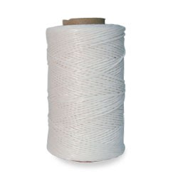 WAXED POLYESTER THREAD 1/4 LB-WHITE